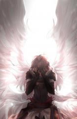 فرشته و انسان عاشق به خودکشی